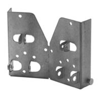Bottom door brackets